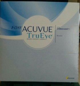 Контактные линзы Acuvue TruEye однодневные - 2.75
