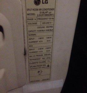 Кондиционер LG S18LHP