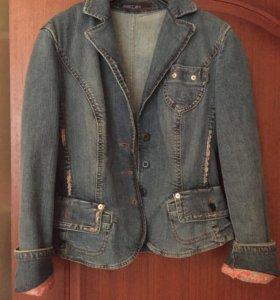 Джинсовка пиджак Marccain