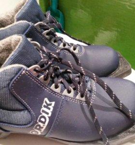 Ботинки лыжные размер 37
