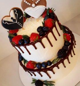 Торты, печенье и пр