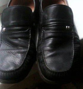 ботинки кожа 45
