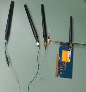 Wi-fi pci и антенны