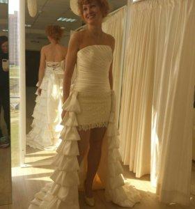 Подгон свадебных платьев