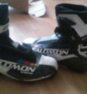 Ботинки для лыж (для конька)