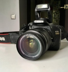 Canon EOS 550D, объектив 18-55 IS