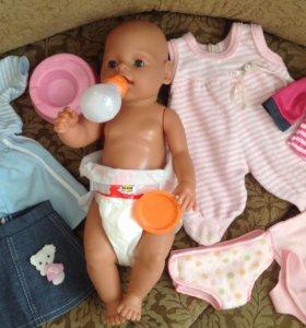 Кукла малыш с комплектом одежды