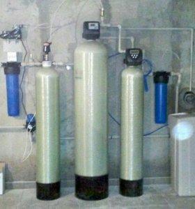 Система для очистки воды от железа.