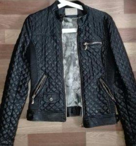 Куртка эко кожа 42р