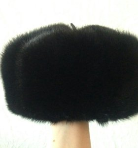 Новая мужская норковая шапка.