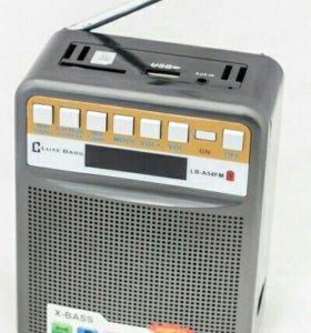 Колонка Luxe Bass с радио. Новая. В наличии.