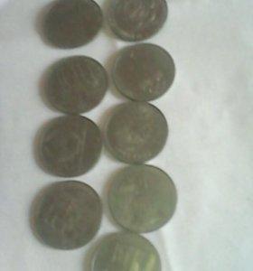 Олимпийские монеты 1980 года