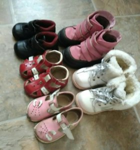 Обувь 13-15см зима/лето