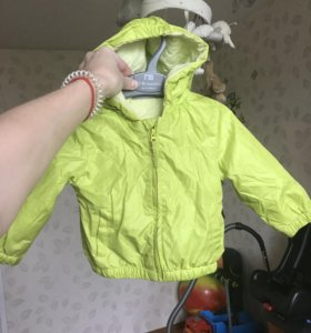 Куртка детская на лето