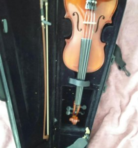 Скрипка euphony 1/2 кейс и смычок + мостик в подар
