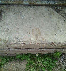 Железобитонные плиты