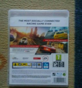 Игра на плейстейшн3 NEED FOR SPEED MOST WANTED a C