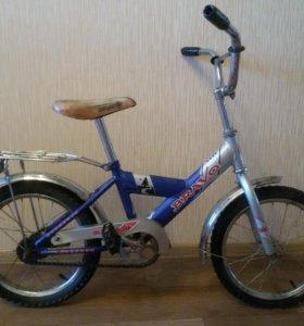 велосипед в хорошем состоянии на 5-7лет