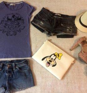 Levi's шорты и футболка