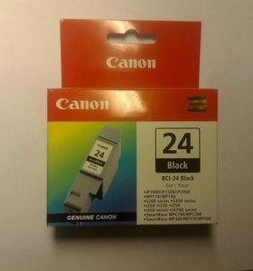 Картридж canon bci-24 black