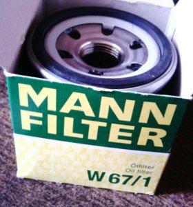 Маслянный фильтр W67/1