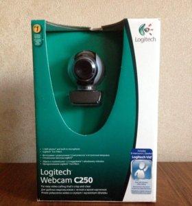 Веб-камера Logitech Webcam C250