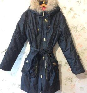пальто демисезонное новое 44-46 р-р