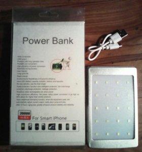 Автономное зарядное устройство Pover Bank 20000.