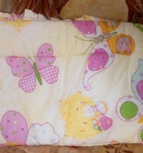 Красивые бортики в кроватку