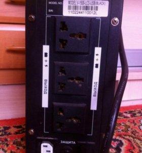 ИБП SVC smart voltage control V-1500 LCD USB