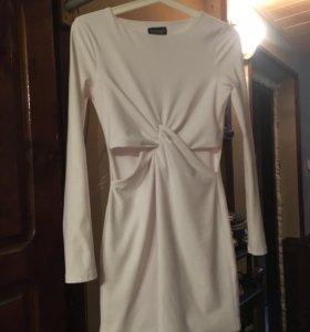 Top shop платье белое
