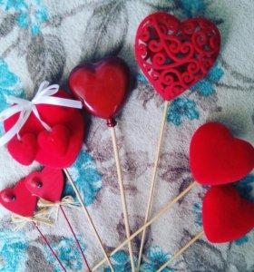 Украшения сердца