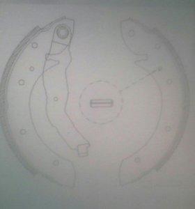 колодки барабанные  бмв bmw Е36