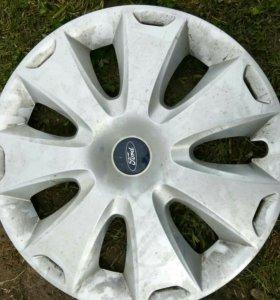 Комплект колес,запаска,колпаки на ford focus 3