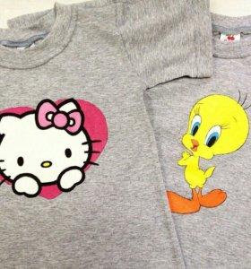 Детские футболки под заказ