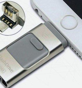 Внешний накопитель для iPhone, iPad, Android, PC
