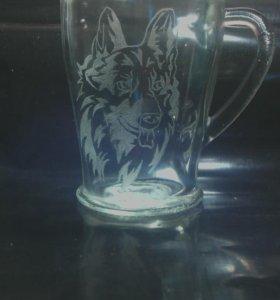 """Чашка """"Овчарка"""""""