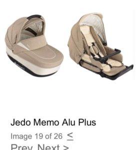 Коляска 2в1 Jedo Memo Alu Plus