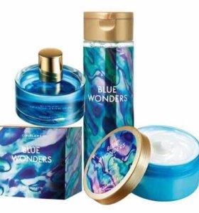 Парфюмерный набор Blue Wonders