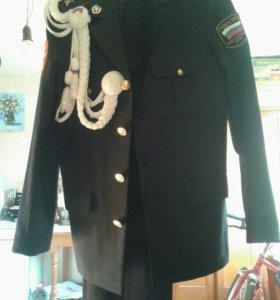 Парадная лёгкая кадетская форма (160-165)