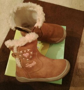 Ботинки сапожки натуральная замша