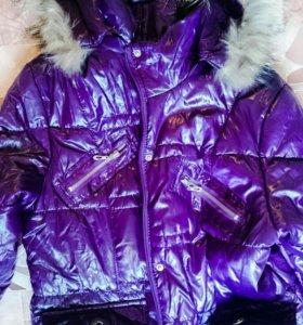 Куртка пуховик 46-48 размер