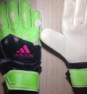 adidas вратарские перчатки
