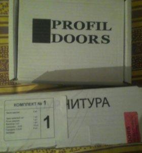 Комплект фурнитуры на двери Профиль Дорс.