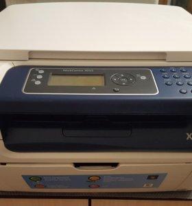 Лазерный принтер 3 в 1 Xerox WorkCentre 3045