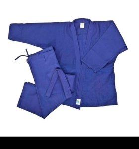 Кимоно синее для мальчиков (для дзюдо)