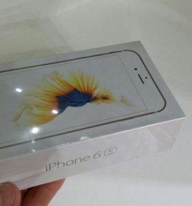 Iphone 6s 16gb gold не вскрытый