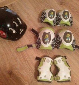 Шлем и защита 6-8 лет