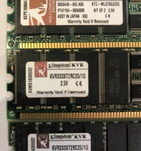 Модуль памяти для сервера DDR333 1gb ECC