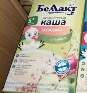 Каши и молочная смесь